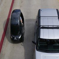 O Pedalist tem uma pegada que é declaradamente cerca de um terço de um automóvel