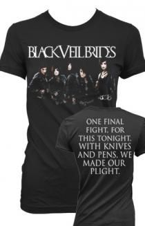Group Skyline (Girls) T-Shirt - Black Veil Brides T-Shirts - Official Online Store on District Lines