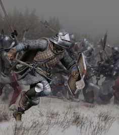 Тяжелый бургундский пехотинец, битва при Ненси, 1477. А4.15, М1:14 (120 мм)