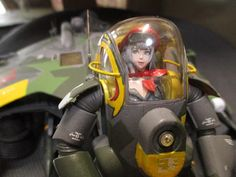 Hornisse by Mitsuru Taguchi Tactical Suit, Robots, Spaceship, Baby Car Seats, Sci Fi, Scale, Models, Suits, Future