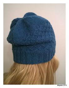 Megetar: Pipo tilkkutyösilmukalla + ohje Knitted Hats, Winter Hats, Sewing, Knitting, Diy, Fashion, Moda, Dressmaking, Couture