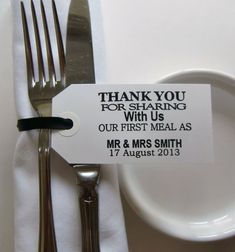 25 ways to say thank you at your wedding 3 via National Vintage Fair blog
