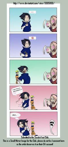 NaruSasu 006 by SasukeYaoi #naruto #sasuke #funny