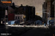 ArtStation - The Division: DarkZone exploration concept, Miguel Iglesias