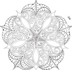 Geometric flower coloring pages geometric flower mandala adult coloring col Flower Coloring Pages, Mandala Coloring Pages, Coloring Book Pages, Printable Coloring Pages, Coloring Sheets, Mandalas Painting, Mandalas Drawing, Colorful Drawings, Colorful Pictures