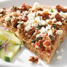 Lahmahjoon Pizza