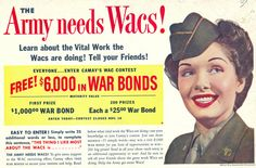 The Army needs Wacs! 1944