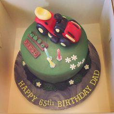 Tractor mower cake