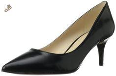 Nine West Women's Margot Leather Dress Pump,Black Leather,8 M US - Nine west pumps for women (*Amazon Partner-Link)
