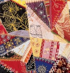 PATTERN FOR CRAZY QUILT PILLOW   My Quilt Pattern                                                                                                                                                                                 More