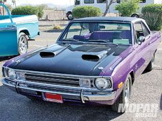 1972 Dodge Dart... yes in this color!