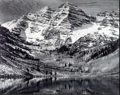 Ansel Adams photography inspiration of texture!