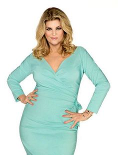 Actress Kirstie Alley returns to Jenny Craig