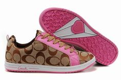 pink Coach shoes for Valentines Day? Yes pleaseee (: