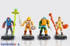 Nouveau Mega CONSTRUX héros Teela Maîtres de l/'Univers MOTU He-Man Mini Figure