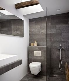 Next bathroom on pinterest small bathrooms modern for Banos pequenos lindos