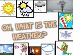 What is the Weather (short calendar song for kids)