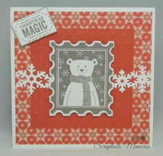 October Stamp of the Month - Home for the Holidays www.scraptasticmemories.com