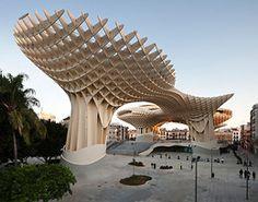 World's Largest Wood Structure (Metro Parasol), Seville, Spain