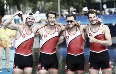 Rowing Lightweight Men´s four team Switzerland olympic 2016 | Rio 2016: Swiss foursome takes Men's Coxless Lightweight Four gold. Silver to Denmark and bronz to France. Winning time 6.20.51 second 6.21.97 and third 6.22.85.