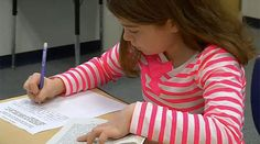 The passing notes activity can be used in math class as well either with word problem, math vocabulary or introducing a concept as a formative assessment activity. Check out this classroom video on Teaching Channel. Teaching Themes, Teaching Skills, Teaching Strategies, Literacy Activities, Writing Skills, Teaching Art, Ela Classroom, Classroom Ideas, Middle School Ela