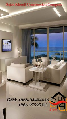 Living Room White, Beautiful Living Rooms, Living Room Colors, New Living Room, Living Room Modern, Interior Design Living Room, Living Room Designs, Design Interiors, Beautiful Family