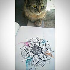 Mandala design. By Lucas Pontes