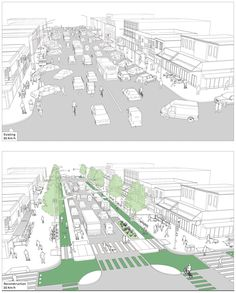 "We as architecture students like to use the term ""activate"". however, how do we make sure people will be using the space as you have in your mind? Urban Design Concept, Urban Design Diagram, Urban Design Plan, Urban Landscape, Landscape Design, Landscape Steps, Street Design, Landscape Architecture, Architecture Design"