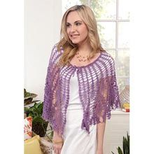 Columbian Pineapples Lace Capelet Crochet Kit - Willow Yarns