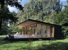 summerhouse in asserbo by michael christensen and pernille poulsen 3 modern cabins