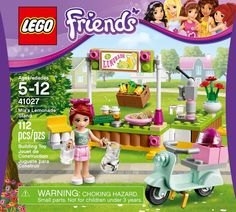 LEGO Friends 2014 set. Mia's Lemonade Stand.