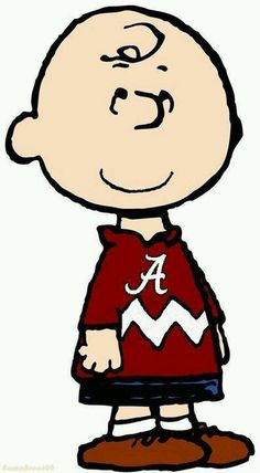 Gotta Love Charlie Brown & Alabama Football  :)  Roll Tide!
