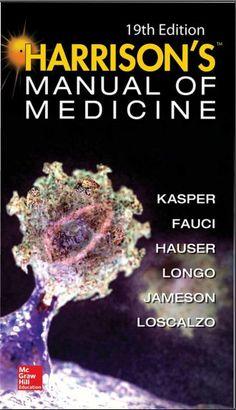 Harrison Manual of Medicine 19th Edition [PDF]   Free Medical Books  79 MB