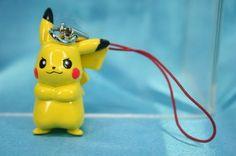 Bandai Pokemon Platinum Version Gashapon Mini Figure Strap Pikachu | eBay