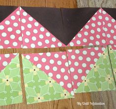 My Quilt Infatuation: Easy Peasy Chevron Quilt Tutorial