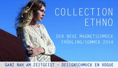 ETHNO – der neue ENERGETIX Magnetschmuck im Frühjahr/Sommer 2014