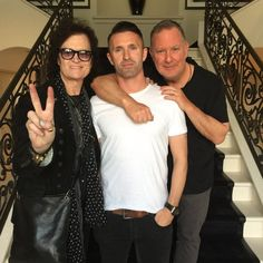 Brothers... #Family Glenn Hughes ~ Robbie Keane ~ Paul Kemsley
