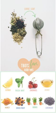 In today's post, we're whipping up ways to make our 5 favorite teas a little more fun!
