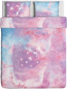 Don& know how to describe how much i love this dreamy pink galaxy bedding sets.
