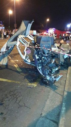 * KZN horror crash * | 24 people died in a horror crash on Field's Hill near Pinetown, KwaZulu-Natal, on Thursday evening when an 18-wheeler truck carrying containers ploughed into four fully-laden minibus taxis and a car. Photo: KZN Transport @KZNTransport