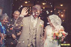 Cécile et Christophe, mariage couleur orange