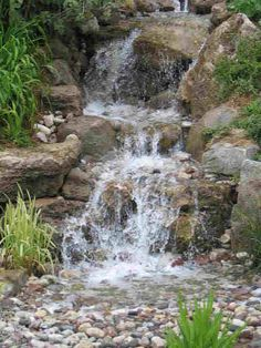 My project for next year. A pondless waterfall. could be a full summer I think! ;o)