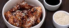 szezámos mézes csirke Pretzel Bites, Biscotti, Chicken Wings, French Toast, Lunch, Bread, Breakfast, Carne, Morning Coffee