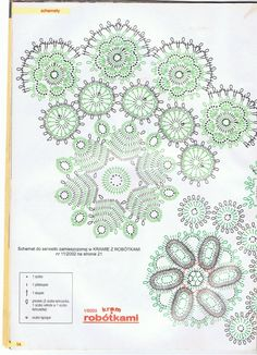 Zdjęcie - 05.02.2009 - ewusia401 | Fotosik.pl Free Crochet Doily Patterns, Crochet Mandala, Crochet Shawl, Crochet Doilies, Crochet Flowers, Crochet Lace, Crochet Stitches, Bruges Lace, Crochet Tablecloth