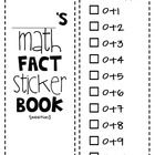 Looking for an easy and fun way to track student mastery of basic math facts?  Use the Math Fact Sticker Book!!! This packet comes with 2 sticker b...