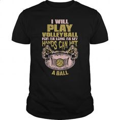 (Crochet Shirt, Gifts For Him)  - I will Volleyball - 0416. MORE INFO =>  - #tshirtshop #HolidayGiftGuide #giftset #giftshop.