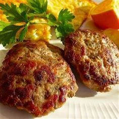 Turkey Breakfast Sausage - Allrecipes.com @jnp12389 you need to make these there delish and easy!