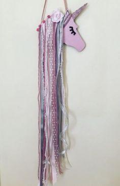 Unicorn-Bow-Holder-Girls-Room-Wall-Decor-Can-Be-Customised-70cm-Jojo-bow-holder