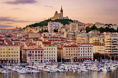 Marseille, le Vieux Port et Notre-Dame de la Garde le matin | Flickr - Photo Sharing!