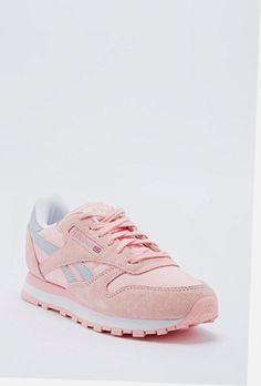 b7ee26d05a409 Shop Reebok Classic Leather Runner in Pink at Urban Outfitters today.